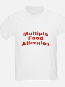 Multiple Food Allergies T-Shirt