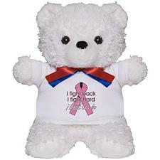 Breast Cancer I Fight Back Teddy Bear