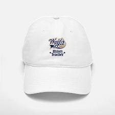 History Teacher Gift Baseball Baseball Cap