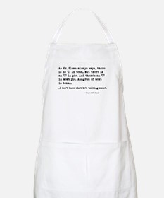 'Shaun of the Dead Quote' Apron