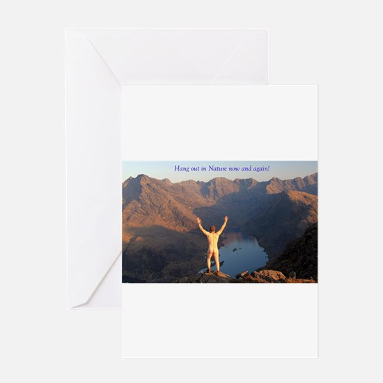 Hang out in Nature Greeting Cards