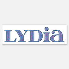 Lydia Blue Glass Bumper Bumper Bumper Sticker