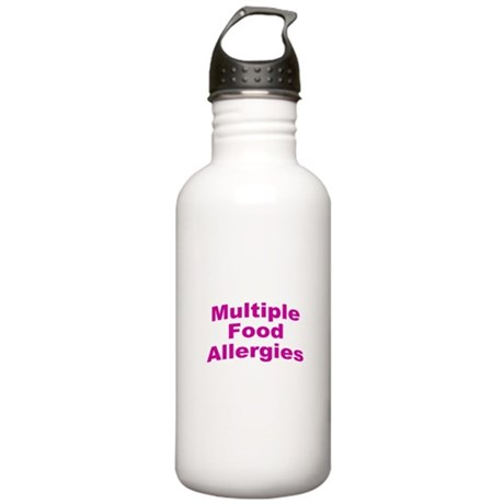 Multiple Food Allergies Stainless Water Bottle 1.0