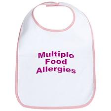 Multiple Food Allergies Bib