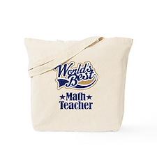 Math Teacher Gift Tote Bag