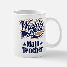 Math Teacher Gift Mug