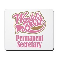 Permanent Secretary Gift Mousepad