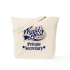Private Secretary Gift Tote Bag