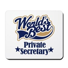 Private Secretary Gift Mousepad