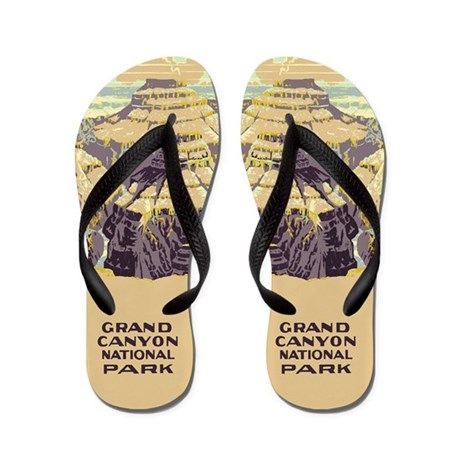 Grand Canyon National Park Flip Flops