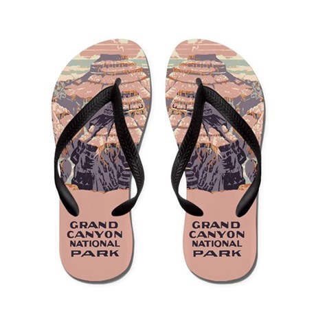 Grand Canyon National Park Flip Flops