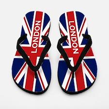London - Union Jack Flip Flops