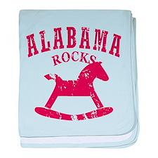 Alabama Rocks baby blanket