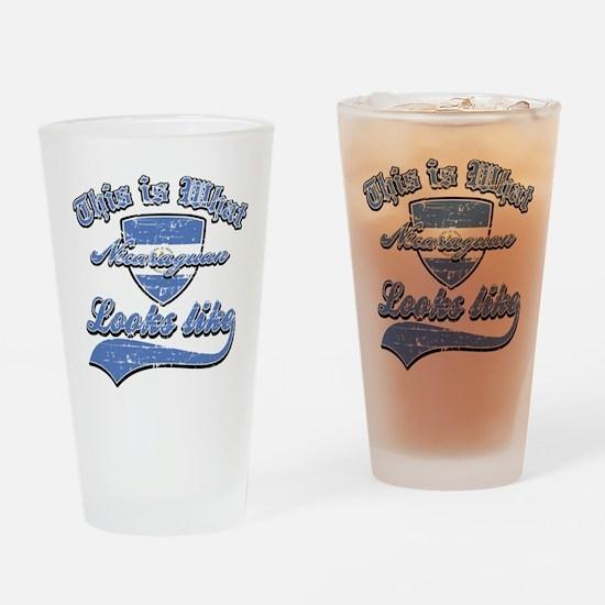 looks like nicaraguan Drinking Glass
