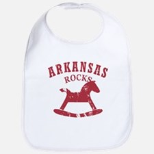Arkansas Rocks Bib