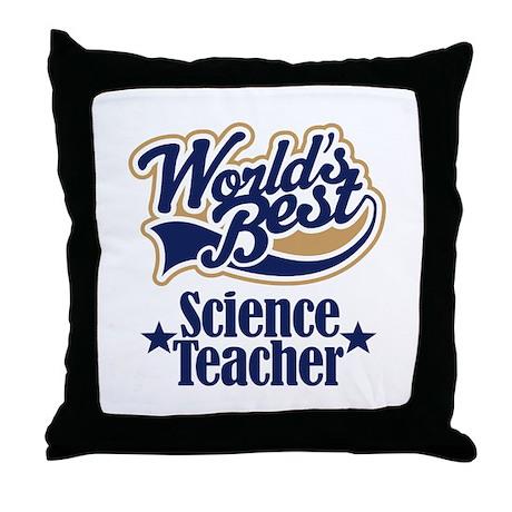Science Teacher Gift Throw Pillow