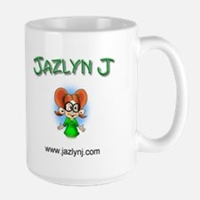 Jazlyn J Large Mug
