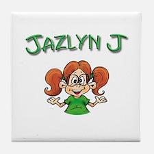 Jazlyn J Tile Coaster