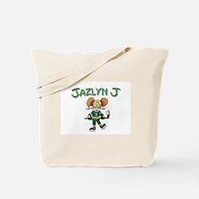 Jazlyn J Hockey Tote Bag