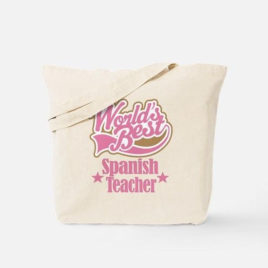 Spanish Teacher Gift Tote Bag