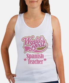Spanish Teacher Gift Women's Tank Top