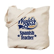 Spanish Teacher Gift Tote Bag