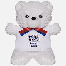 Spanish Teacher Gift Teddy Bear
