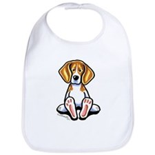 Funny Beagle Bib