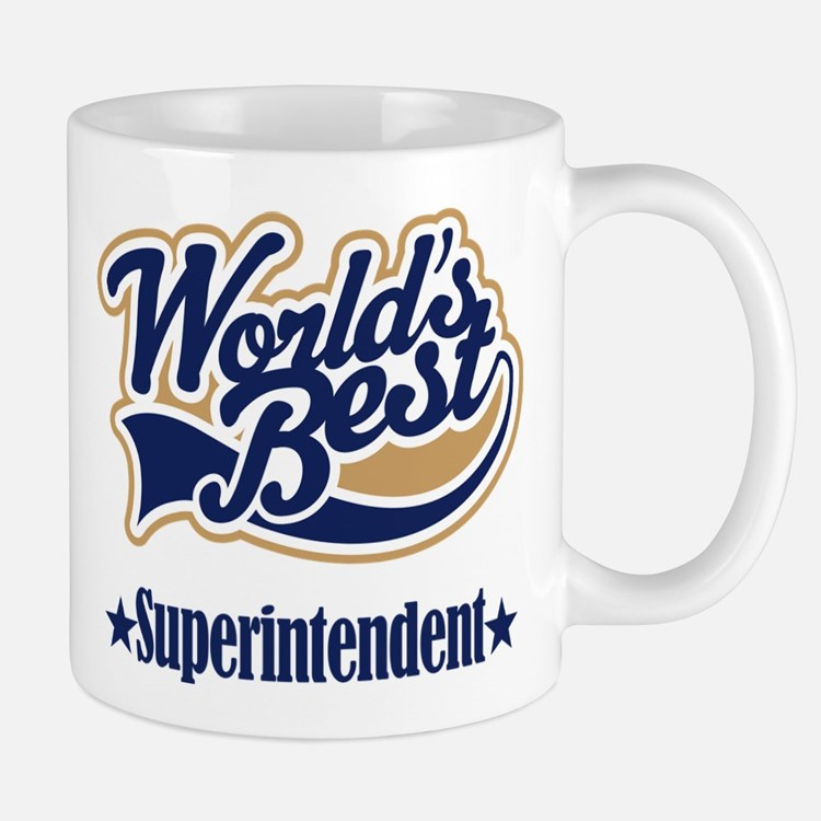 Superintendent Gift Mug