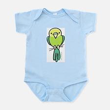 Yellow/Green Parakeet Infant Bodysuit