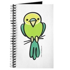 Yellow/Green Parakeet Journal