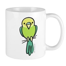 Yellow/Green Parakeet Mug