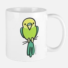 Yellow/Green Parakeet Mug