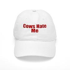 Cows Hate Me Baseball Cap