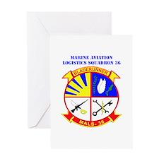 Marine Aviation Logistics Squadron 36 with Text Gr