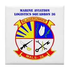 Marine Aviation Logistics Squadron 36 with Text Ti