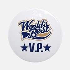 VP Vice President Gift Ornament (Round)