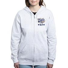 VP Vice President Gift Zip Hoodie