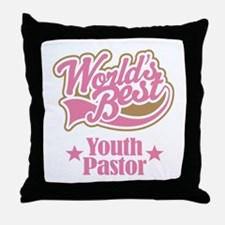 Youth Pastor Gift Throw Pillow