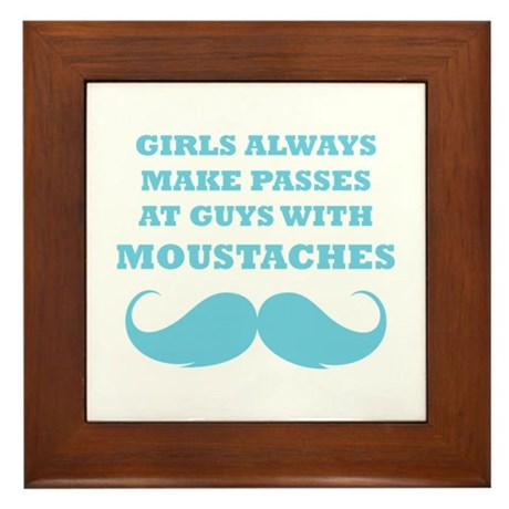 Guys with moustaches