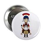 "Cute Roman Soldier 2.25"" Button (100 Pk)"