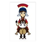Cute Roman Soldier Postcards (Pk of 8)
