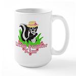 Little Stinker Kim Large Mug