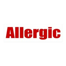 Allergic Wall Decal