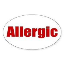 Allergic Decal