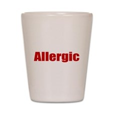 Allergic Shot Glass