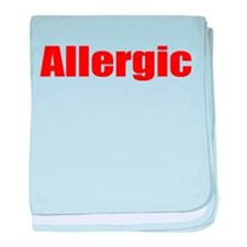 Allergic baby blanket