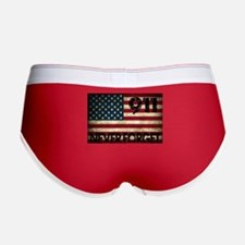 911 Grunge Flag Women's Boy Brief