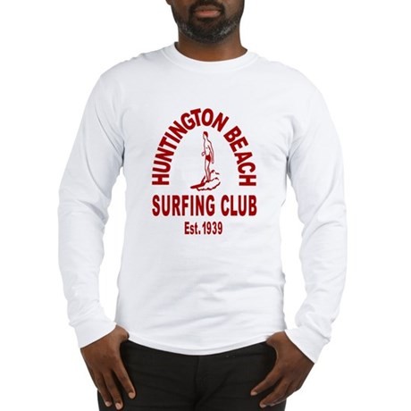 Huntington Beach Surfing Club Long Sleeve T-Shirt