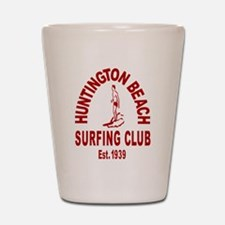 Huntington Beach Surfing Club Shot Glass